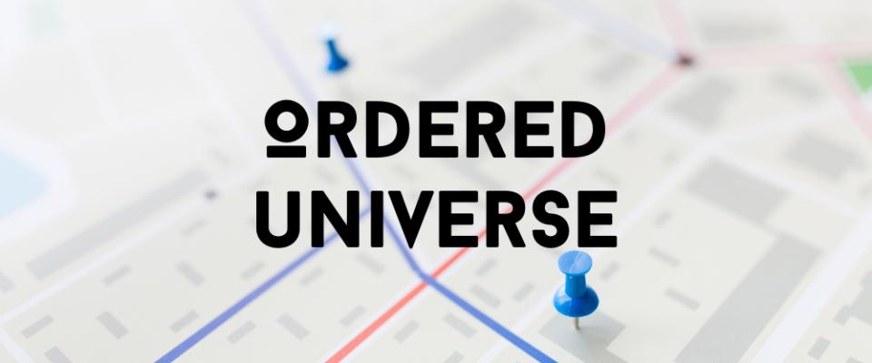 Ordered Universe Week